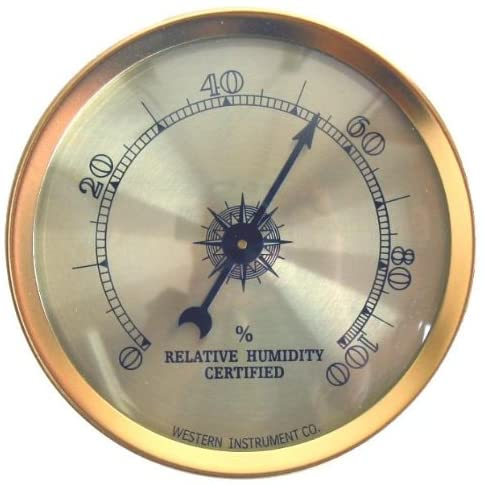 Cigar Oasis Analog Hygrometer by Western Humidor