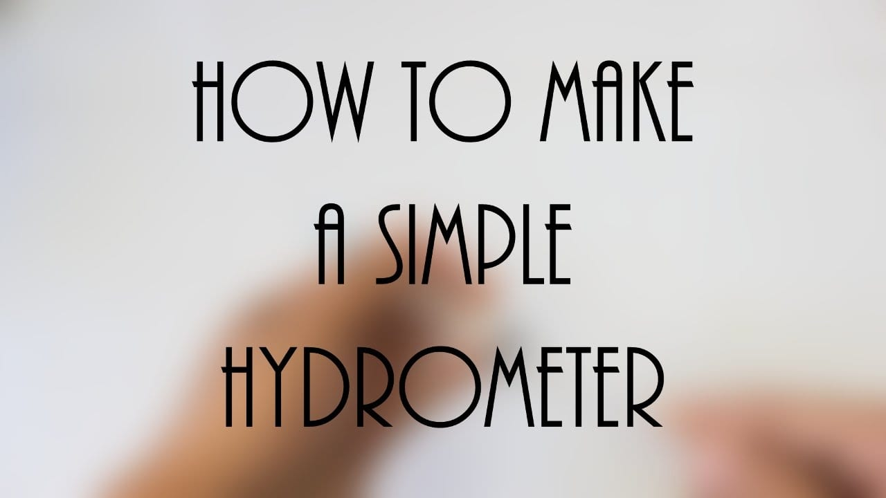 How to make a Hygrometer